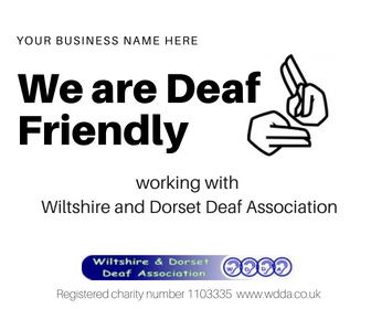 Show the Deaf community that you care