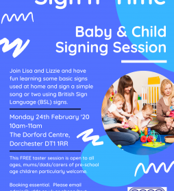 WDDA launch NEW Baby & Child Signing Session!