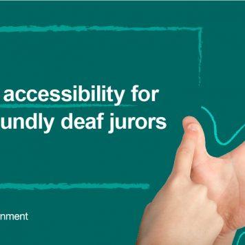 Law changes open doors to deaf jurors